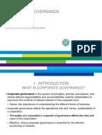 Finance d'Entreprise - 1 - Corporate Governance