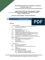 Informe de Suelos Desv. Km 17 - Cedro Isla