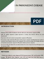 Depression in Parkinson's Disease Ppt1