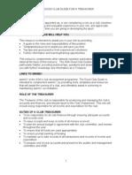 Good Club Guide for Treasurer Plain Version