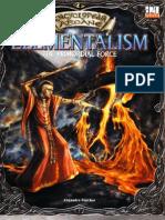 Encyclopaedia Arcane - Elemental Ism