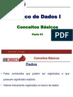 BD01 - Conceitos Básicos de Banco de Dados - Parte 01