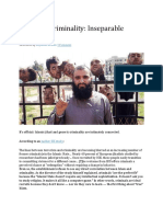 Jihad and Criminality