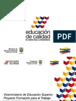 Orientación Ministerio de Educación