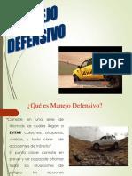 MANEJO DEFENSIVO 4X4