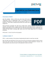 How to Choose the Right RAID for Your Dedicated Server