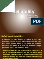 LT 1 2011reliability.pptx