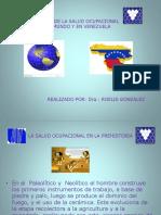 Hist Salud Ocupacional Mundo y Venezuela