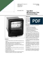 RCS Actuators Brochure   Relay   Switch on