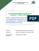 16. Plan Seguridad