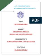 report on Shantivan Visit.docx