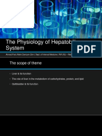 The Physiology of Hepatobiliary System