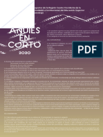 Convocatoria Anuies en Corto 2020