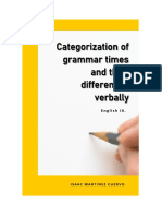 Categorization of Grammar Times