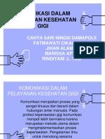 KELOMPOK 3 (KOMUNIKASI DALAM PELAYANAN KESEHATAN GIGI).pptx