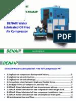 Compresor Liber de Aceite Enfriado Por Agua