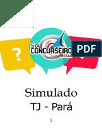 Simulado 1 - TJ PA