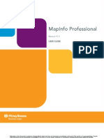 Map Info Professional User Guide
