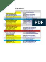 Lista de Inscritos 1-2018