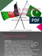 Pak Afghan Relation