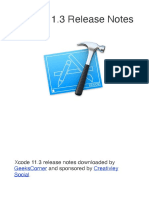 Xcode 11.3 Release Notes
