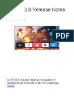 TvOS 13.3 Release Notes
