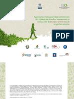 Marco referencial para la evaluación de impactos ambientales