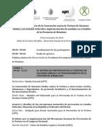 Jornadas Protocolo Facultativo de la Convención contra la Tortura