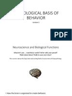 Neurological Basis of Behavior