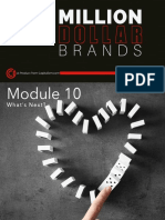 MDB Module 10 Summary and Action Steps