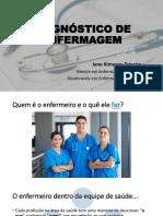 Apresentação Diagnóstico de Enfermagem SCMS