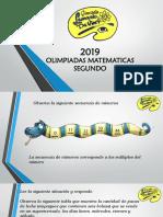 OLIMPIADAS MATEMATICAS SEGUNDO.pptx