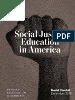 Social Justice Report Web, National Association of Scholars