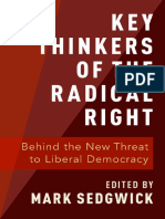 Mark J. Sedgwick - Key Thinkers Of The Radical Right_ Behind The New Threat To Liberal Democracy-Oxford University Press (2019)