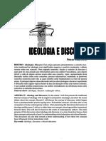 Ideologia e Discurso