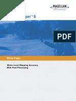 MobileMapper6 PostProcessing White Paper
