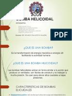 Bomba Helicoidal