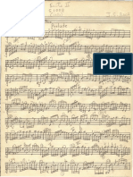 Prelude BWV 1008, transcription by Roger Allen Cope