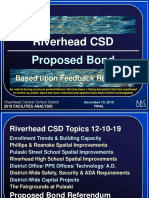 Riverhead Central School District revised bond proposal