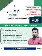 Project Management ESE PPT