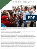 05-08-2019 Inaugura Héctor Astudillo obras y entrega apoyos en San Marcos.