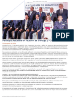 12-08-2019 Participa Astudillo en reunión de Conago y FGR.