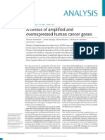 A Census of Amplified and Over Expressed Human Cancer Genes