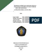 Laporan PKL BPTU-HPT