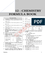 Formula Book Chemistry 1