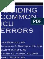 Avoiding Common ICU Errors, 1st Edition [2007]