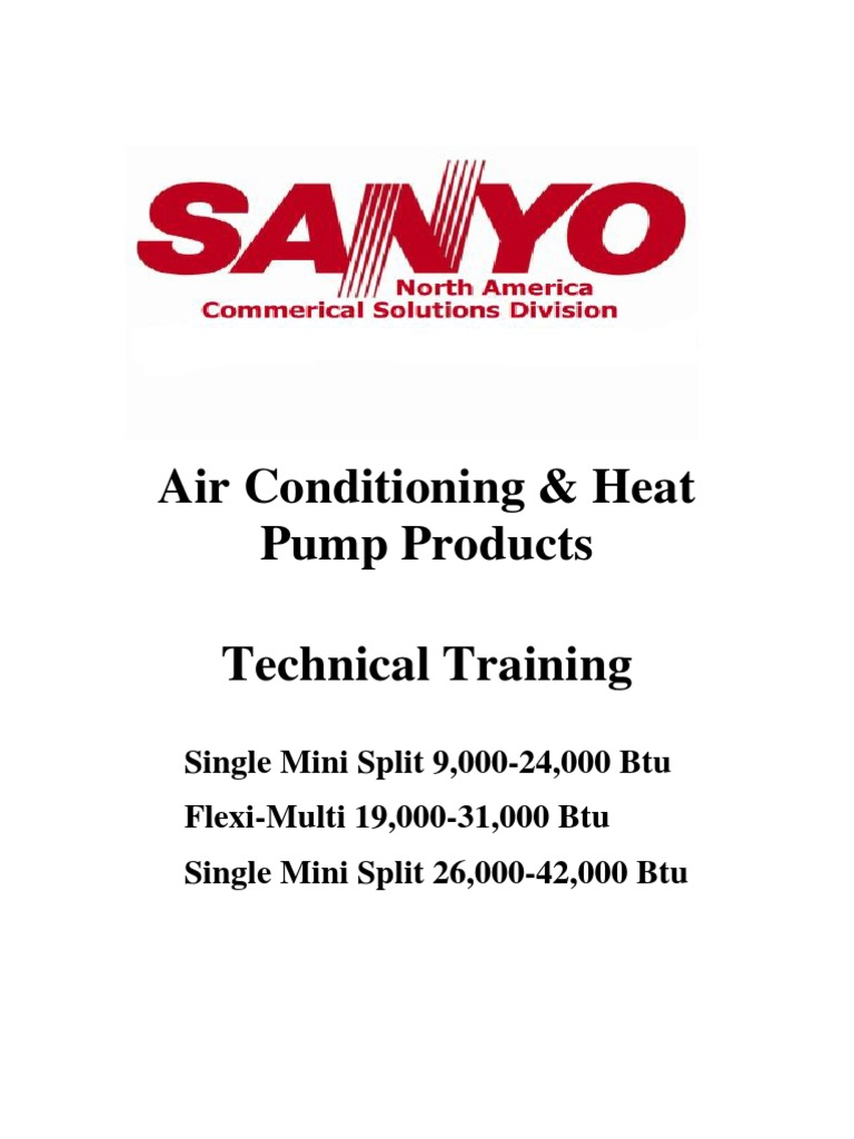 mini split training manual 2010 version 4 1 air conditioning rh scribd com