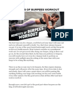 Benefits of Burpees Workout (DMoose Fitness)