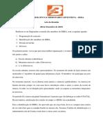 Acta - BIMA 08.12.2019