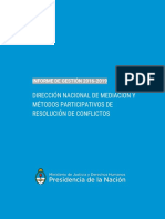 Informe de Gestión DNMyMPRC 2016 2019 Final 12 2019